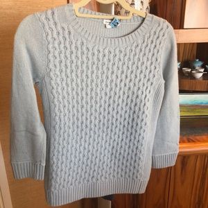 Club Monaco wool cashmere cable sweater XS